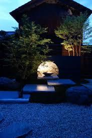 japanese outdoor lighting. Landscape Lighting Up Frame Japanese Outdoor