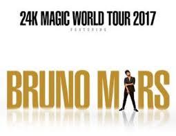 bruno mars 24k magic world tour comes to madison square garden on friday september 22 saay september 23