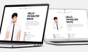 Html Resume 45 Best Html Resume Cv Vcard Templates Free Premium Freshdesignweb
