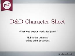 d and d online character sheet drupal dungeons dragons