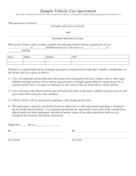 Vehicle Lease Agreement - Download Free Documents For Pdf, Word And ...