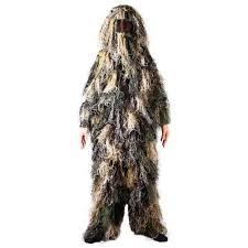 Ghillie Suit Size Chart Ghillie Suit Woodland Camo Size M L Factory Direct Price