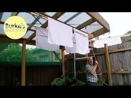 How To Make A Clothesline Classy Burke's Backyard How To Make A Modern Clothesline YouTube