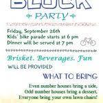 Neighborhood Party Invitation Wording Aggretweet Com Free Printable Party Invitations Part 3