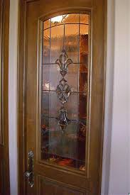 pantry door inserts with stained beveled glass by sans soucie