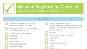 baby room checklist. Perfect Checklist What To Pack For Labour And Hospital A Checklist Bub Hub In Baby Room T