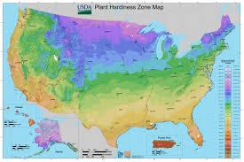 usda plant hardiness zones map 2016