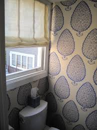 Charming Katie Ridder Leaf Wallpaper   Katie Ridder Designs Powder Room