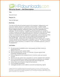 Example Of Security Guard Report Writing Incident Sample Band Ible