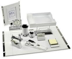 premier desk set collection silver desk accessories