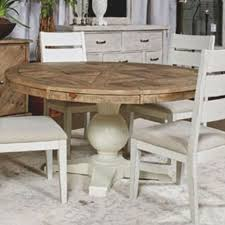 ashley furniture grindleburg round dining table in two tone