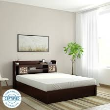 queen size bed price. Brilliant Size Spacewood Mayflower Engineered Wood Queen Box Bed Throughout Size Price E