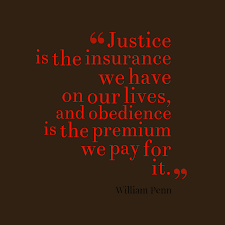 william penn quote about justice