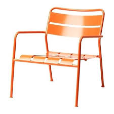 outdoor ikea furniture. Metal Chairs Ikea Modern Orange Outdoor Arm Chair Band Or  Furniture .