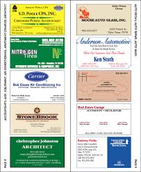 Business Card Directory Fox Print Services
