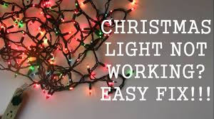 Christmas Tree Light Repair How To Repair Christmas Light Not Working Easy Fix