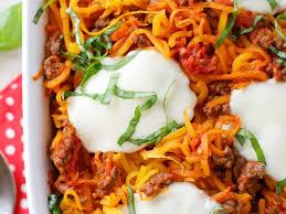 ernut squash spaghetti bake