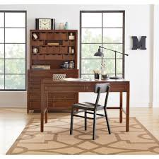 deluxe wooden home office. Large-size Of Deluxe Martha Stewart Living Craft Space Sequoia Desk  Deluxe Wooden Home Office