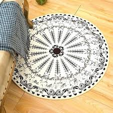 round floor rugs colorful bohemian rug carpet mat soft for living room bedroom bedrooms large ikea