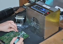 ilration 1 1 benchtop solder fume extractor