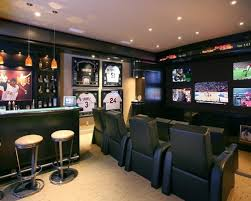 themed family rooms interior home theater: saveemail dcacea  w h b p contemporary home theater