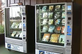 Book Vending Machine Library Interesting Access Your Books Though The Polk County Library Vending Machine