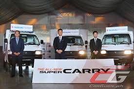 new car launches in philippinesIndiamade Suzuki Super Carry launched in Philippines