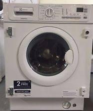 electrolux aqualux 1200. electrolux ewg127410w integrated washing machine a++(wm227) aqualux 1200