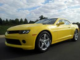 2014 CHEVROLET CAMARO BRIGHT YELLOW 1LT 323 HP 3.6 V-6 REVIEW ...