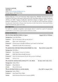 resume head lines