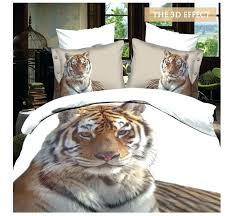 lion bed sets leopard print bedding set duvet cover linen comforter tiger sheets