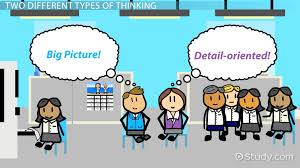 detail oriented examples big picture vs detail oriented thinking video lesson transcript