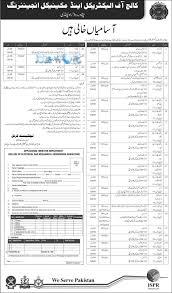 eme college rawalpindi jobs 2016 application form jobsworld
