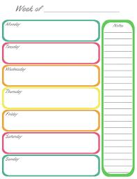 Printable Week Planner Weekly Day Planner Printable Tirevi Fontanacountryinn Com