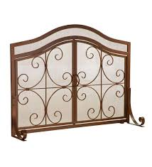 fireplace screen for decorating and will keep sparks inside your fireplace pyra fireplace screen with