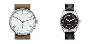 the well dressed wrist a guide to men s jewelry a men s jewelry mini st seen here are the ludwig watch by nomos and the model