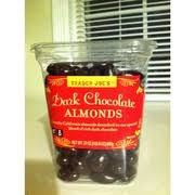 trader joe s dark chocolate almonds nutrition grade c