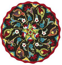 loloi azalea az 12 dark brown multi rug contemporary area rugs by plushrugs