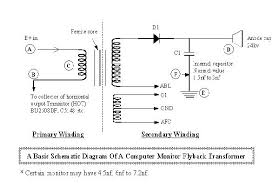 testing flyback transformer easiest test method transformer ratio formula at Transformer Schematic Diagram