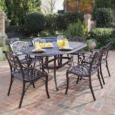 previous dining table sets shopping home styles biscayne  piece aluminum patio dining set