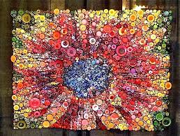 Button Floozies: Button quilt at the Houston Quilt Show & Button quilt at the Houston Quilt Show Adamdwight.com