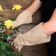 gauntlet gardening glove gauntlet glove