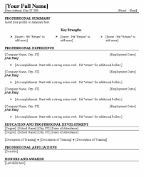 Blank Resume Template Mesmerizing Blank Resume Template