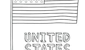 Color Of The American Flag Meanings Colours Coloring Page Crayola
