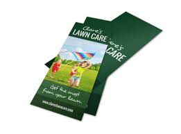 Sample Flyers For Landscaping Business Simple Lawn Care Flyer Template