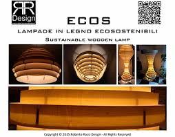 Soffitto In Legno Illuminazione : Ecos lampade in legno ecosostenibili on behance
