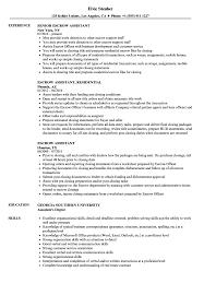 Escrow Assistant Resume Samples Velvet Jobs