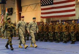 usarak n celebrate yudh abhyas exercise kickoff   original iers of u s alaska and the n