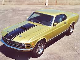 1970 Ford Mustang Mach 1 351 Cleveland