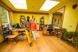 olowo n djo tchala and rose hyde stand in their alaffia home office the pany employs more than 80 people in the greater olympia area